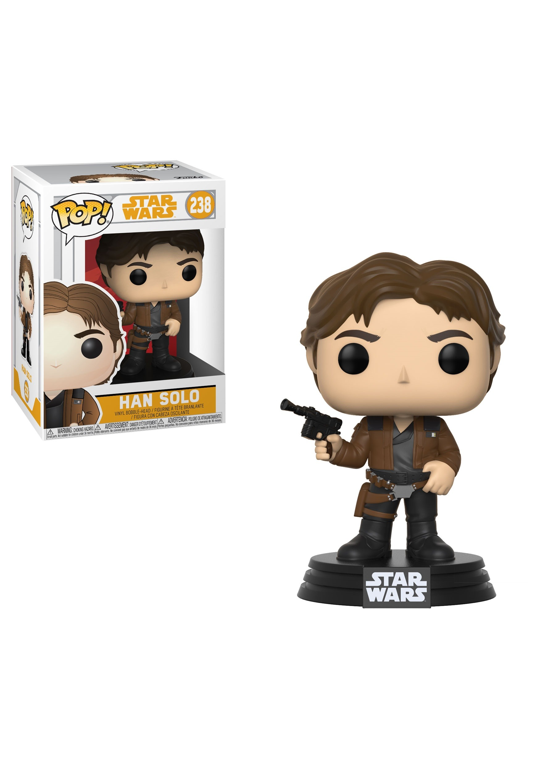 Pop Star Wars Solo Bobblehead Figure Han Solo Movie-5988