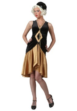 Velvet Diamond 1920's Flapper Costume