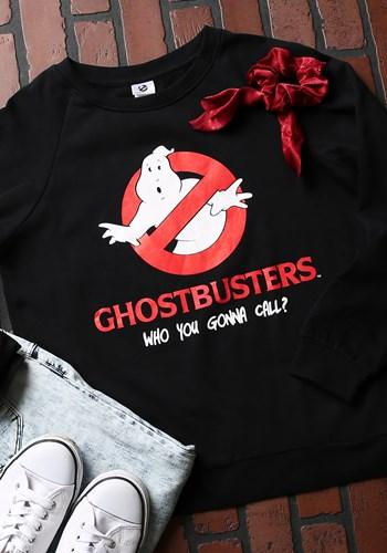 Ghost Busters Junior Ladies Sweatshirt Updated