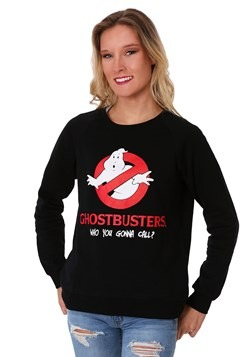Ghost Busters Junior Ladies Sweatshirt Alt 1