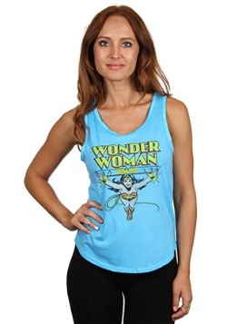 Wonder Woman Junior Ladies Tank Top1