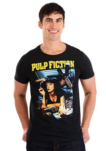 Miramax Pulp Fiction Poster Men's T-Shirt
