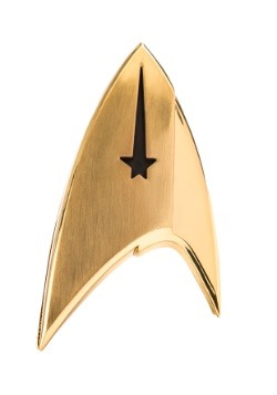 Star Trek: Discovery Magnetic Badge - Command