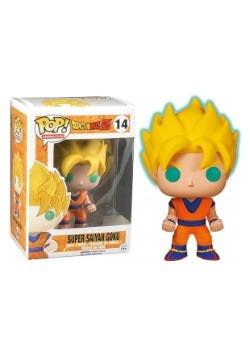 Dragon Ball Z Glow-in-the-Dark Super Saiyan Goku Pop Vinyl