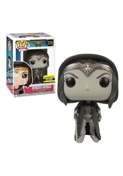Wonder Woman Movie Cloak Sepia Pop! Vinyl Figure update
