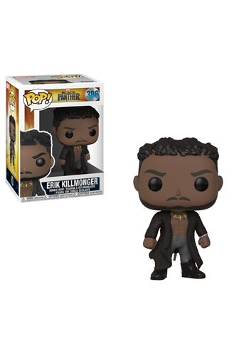Pop! Marvel: Black Panther- Erik Killmonger w/ Scar
