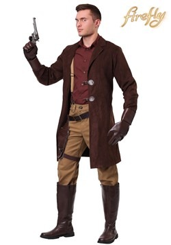 Plus Size Firefly Adult Malcolm Reynolds Costume