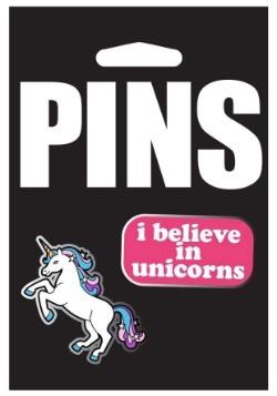 Unicorn Pin Set