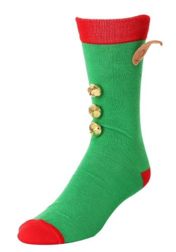 3D Novelty Elf Crew Socks