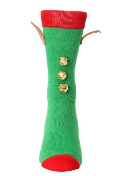 3D Novelty Elf Crew Socks2