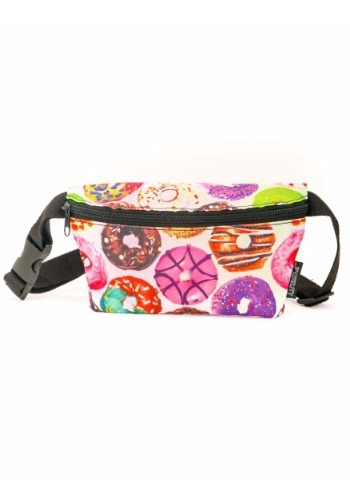 Donuts Print Fydelity Fanny Pack