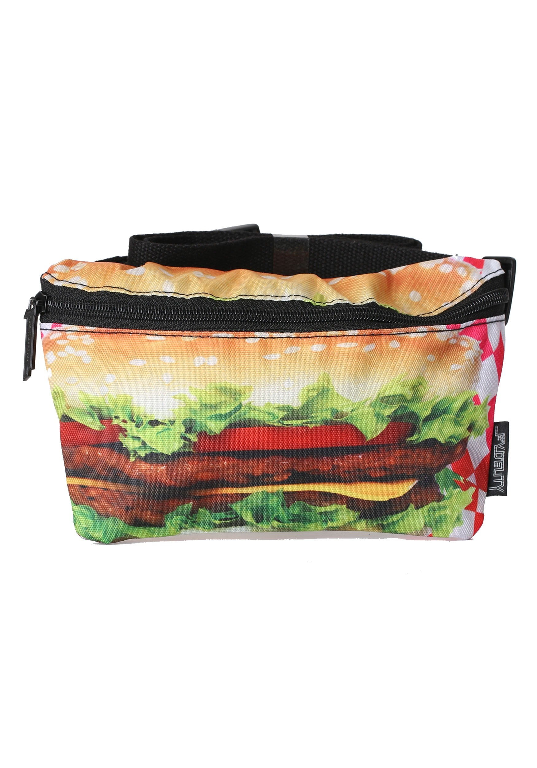 Hamburger Print Fydelity Bum Bag