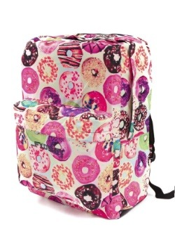 Donuts Print Fydelity Big A$$ Backpack