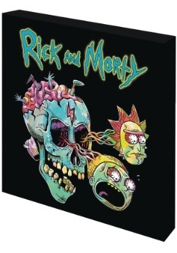 Rick & Morty Skull High Gloss Wall Decor