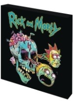 Rick & Morty Skull High Gloss Wall Decor