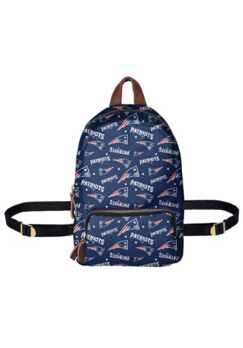 New England Patriots Printed Collection Mini Backpack