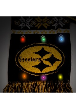 Pittsburgh Steelers Light Up Scarf alt 2