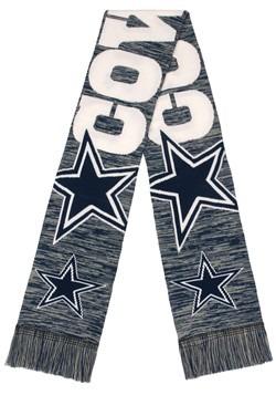 Dallas Cowboys Wordmark Big Logo Colorblend Scarf