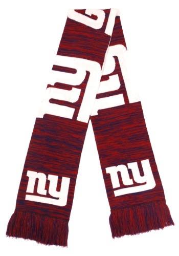 New York Giants Wordmark Big Logo Colorblend Scarf