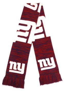 New York Giants Wordmark Big Logo Colorblend Scarf