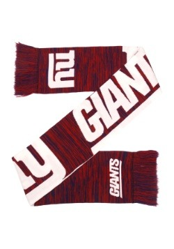 New York Giants Wordmark Big Logo Colorblend Scarf2