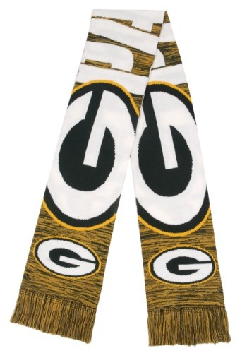 Green Bay Packers Wordmark Big Logo Scarf