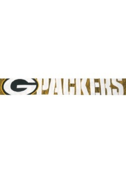Green Bay Packers Wordmark Big Logo Scarf Alt1