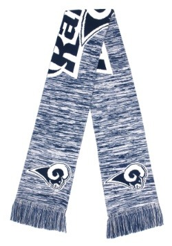 Los Angeles Rams Wordmark Big Logo Colorblend Scarf