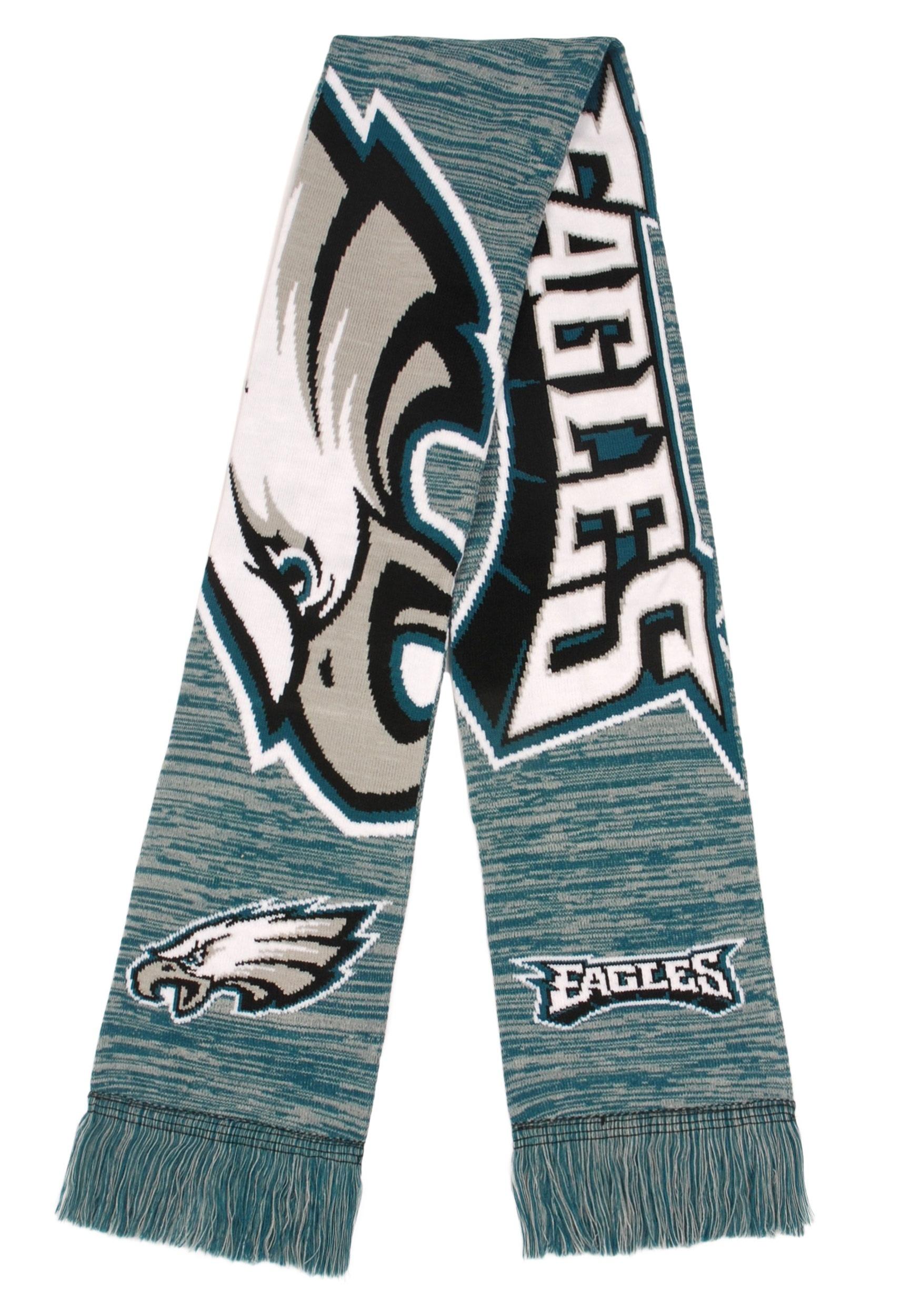 28ff9590 Philadelphia Eagles Wordmark Big Logo Colorblend Scarf