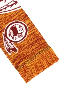 Washington Redskins Wordmark Big Logo Colorblend Scarf Alt2