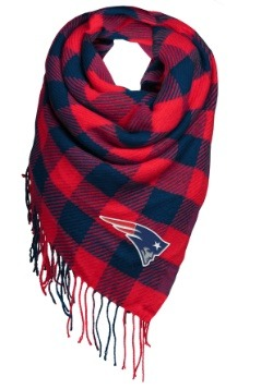 New England Patriots Women's Oversized Scarf