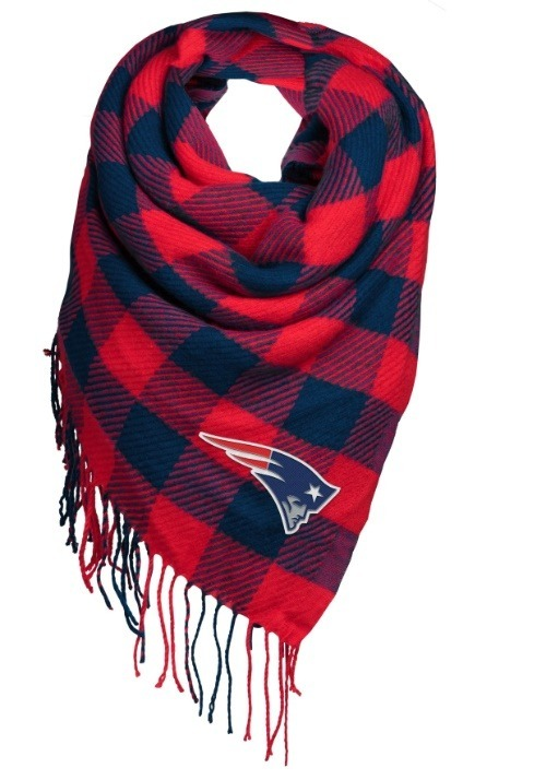 New England Patriots Women's Oversized Scarf