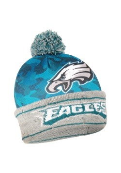 Philadelphia Eagles Camouflage Light Up Printed Beanie