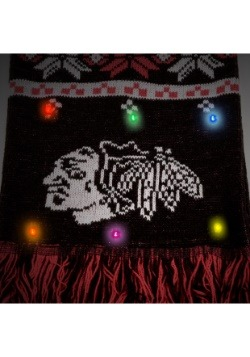 Chicago Blackhawks Light Up Scarf alt 2
