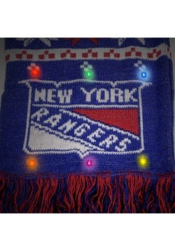 New York Rangers Light Up Scarf alt 2