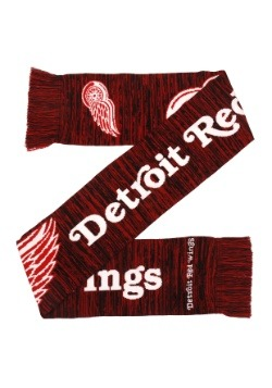 Detroit Red Wings Wordmark Big Logo Colorblend Scarf2