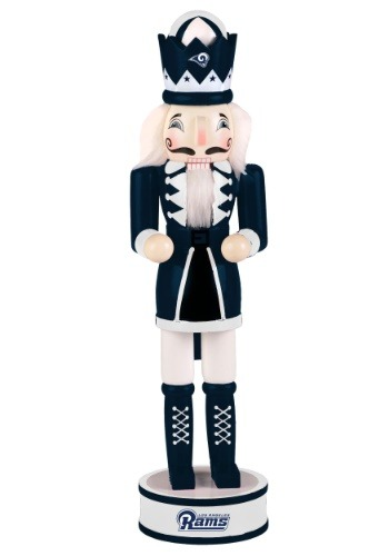 "Los Angeles Rams 14"" Holiday Nutcracker"
