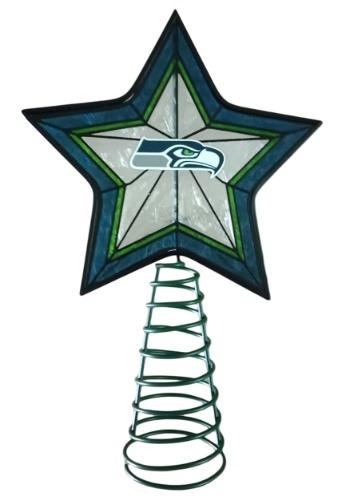 Seattle Seahawks Star Christmas Tree Topper