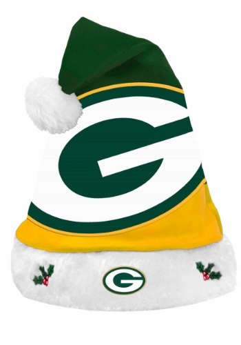 Green Bay Packers Santa Hat