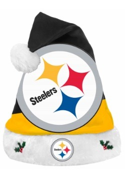 Pittsburgh Steelers Santa Hat