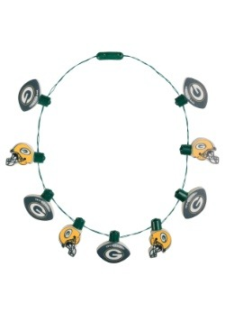 NFL Green Bay Packers Light Up Ball Necklace