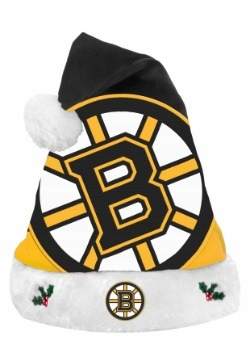 Boston Bruins Santa Hat