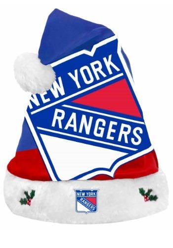 New York Rangers Santa Hat