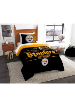 Pittsburgh Steelers Twin Comforter