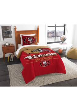 San Francisco 49ers Twin Comforter