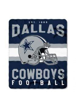 NFL Dallas Cowboys Singular Fleece Throw