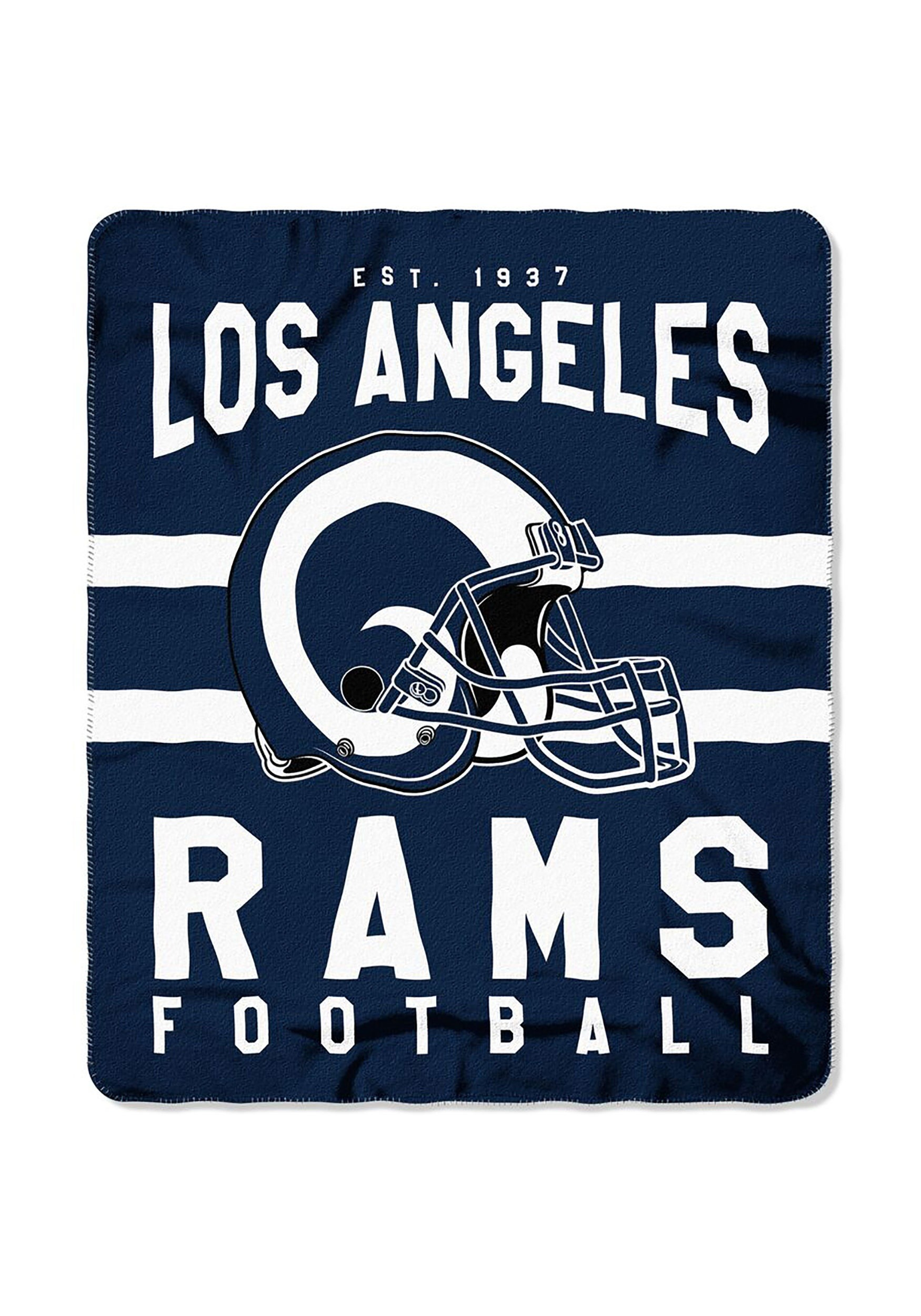 wholesale dealer 73c98 9519c Los Angeles Rams NFL Singular Fleece Throw