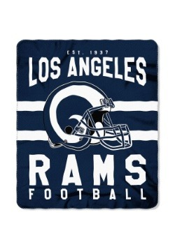 Los Angeles Rams NFL Singular Fleece Throw