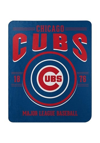 Chicago Cubs MLB Strength Fleece Throw