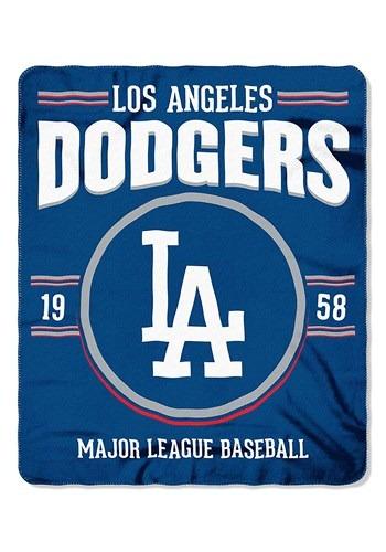Los Angeles Dodgers MLB Strength Fleece Throw